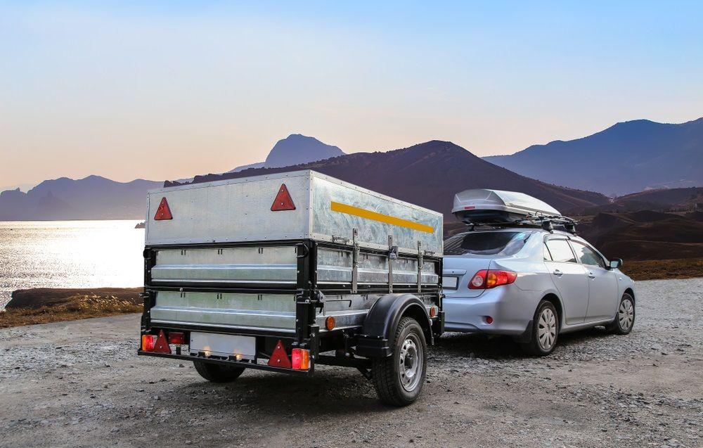 Met vouwwagen op vakantie